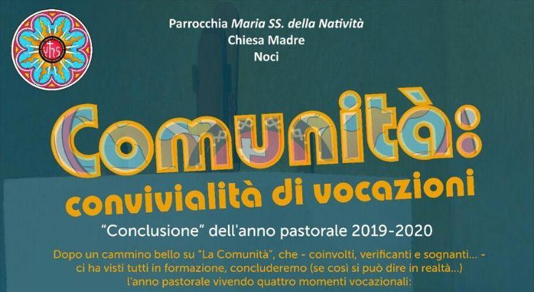 """""""Comunità: convivialità di vocazioni"""": video-incontri e messe per la conclusione dell'anno pastorale"""