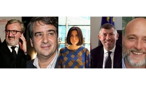 I cinque candidati alla Regione