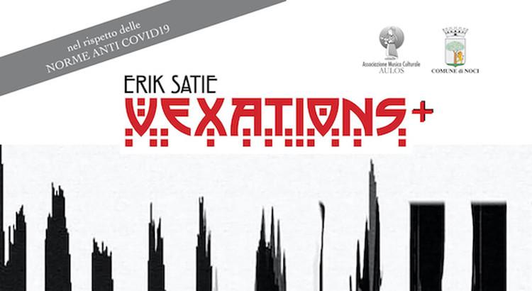 """La XVI Rassegna di Concerti """"Saverio Mercadante"""" inaugura con VEXATIONS+"""