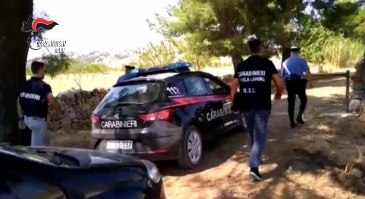 Imprenditore arrestato dai carabinieri per sfruttamento del lavoro