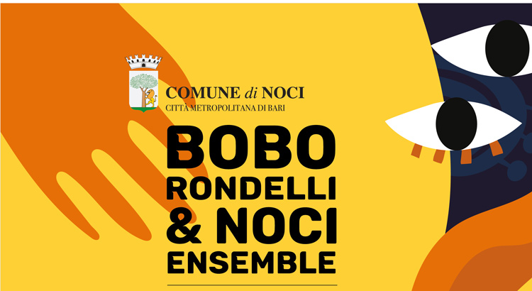 Bobo Rondelli & Noci Ensemble in Piazza Garibaldi il 7 Agosto