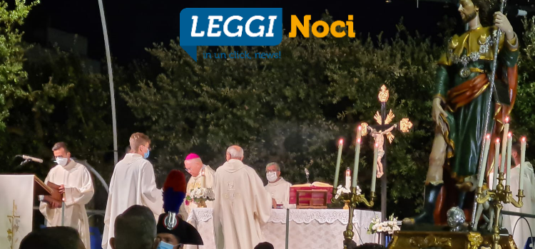 Celebrato San Rocco in Piazza Garibaldi