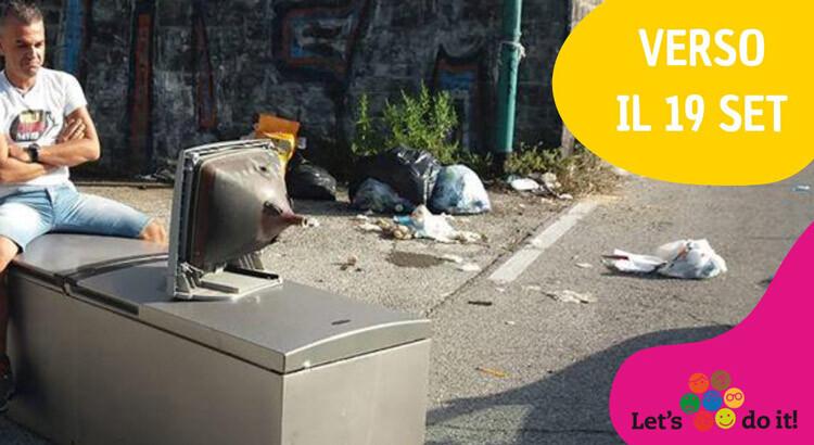 Noci prende parte al World Cleanup Day 2020