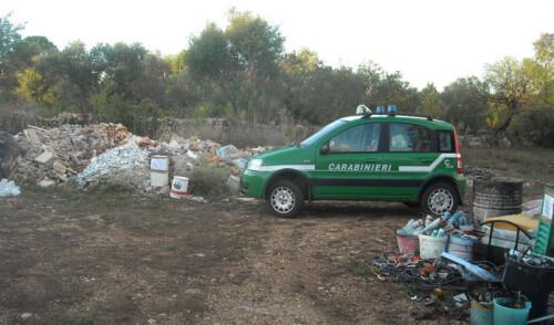 Impresa edile nocese smaltisce illecitamente rifiuti
