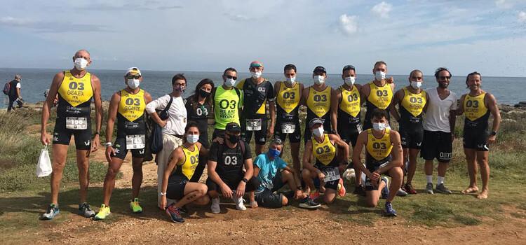 Triathlon medio e sprint al Borgo Egnazia Tri: titolo regionale alla O3TT