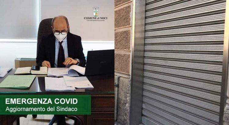 Il Sindaco Nisi dispone la chiusura anticipata delle attività commerciali