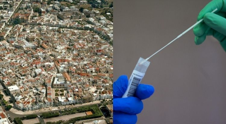 Emergenza coronavirus, nuovo aumento dei contagi a Noci