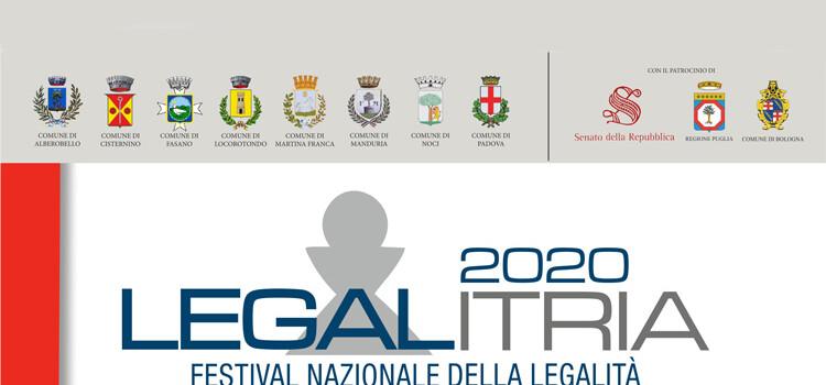 """LegalItria: il """"Festival Nazionale della Legalità"""" online"""