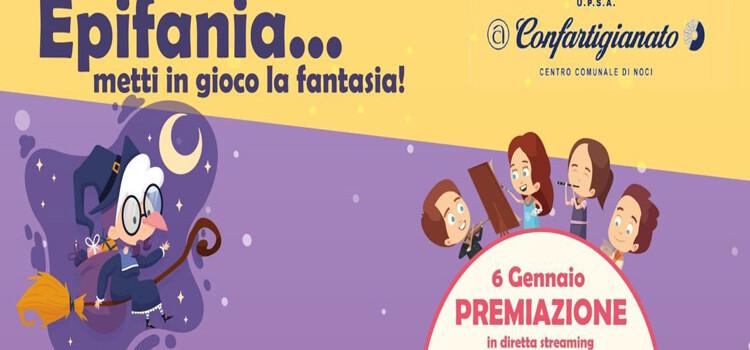 """""""Epifania…metti in gioco la fantasia!"""" il concorso online della Confartigianato Noci"""