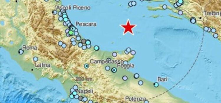 Scossa di terremoto avvertita in Puglia ed anche a Noci