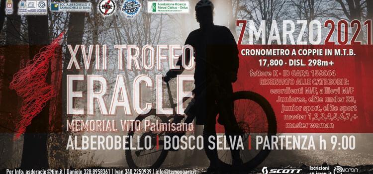 Trofeo «Eracle – Memorial Vito Palmisano», domenica 7 marzo la 17ma edizione