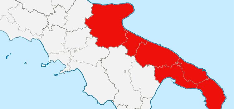 La Puglia resta in zona rossa almeno per altre due settimane