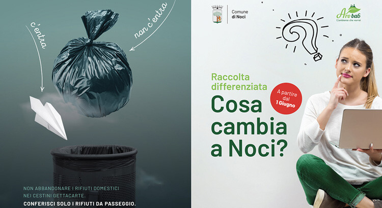 Noci, dal 1° giugno in vigore il nuovo calendario dei rifiuti per le utenze domestiche