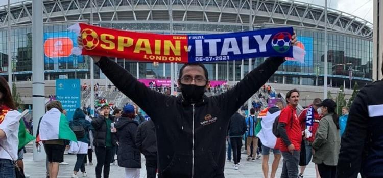 "Un nocese a Wembley: ""è stata un'esperienza incredibile"""