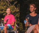 Antonella e Sahbi premiati alla Serata dell'Emigrante
