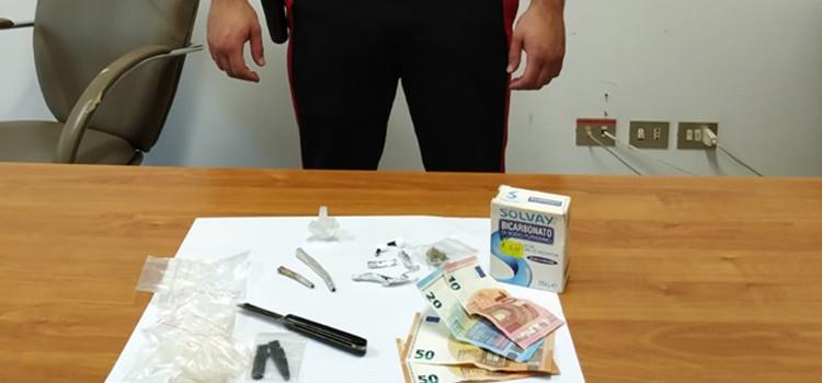 Giovane arrestato per spaccio di stupefacenti
