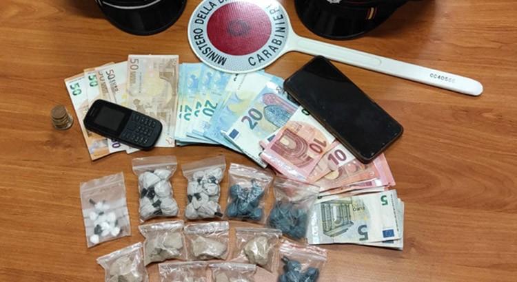 Arrestato 23enne per spaccio