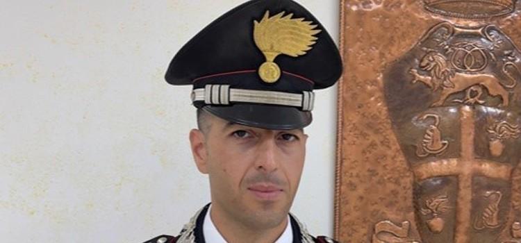 Insediato il nuovo comandante della compagnia dei carabinieri