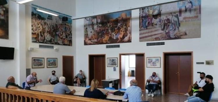 L'amministrazione comunale incontra le attività commerciali di via Moro
