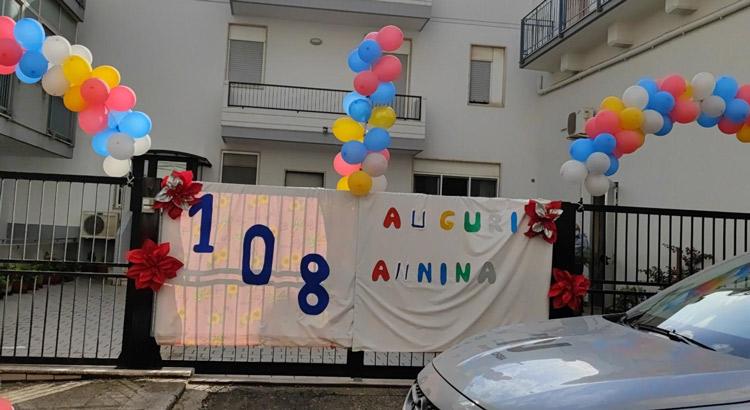 Nonna Annina festeggia 108 anni
